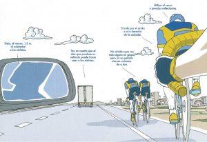 imagen ciclistas carretera menorca